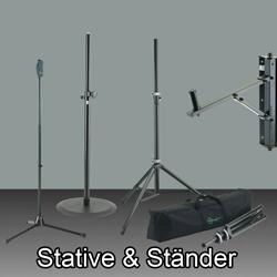 Ständer & Stative  bei den Audioprofis von Mink Audio Professional.