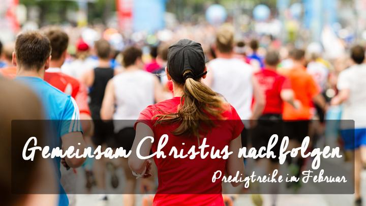 Gemeinsam Christus nachfolgen
