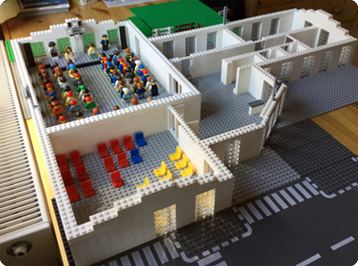 Lego-Gebäude