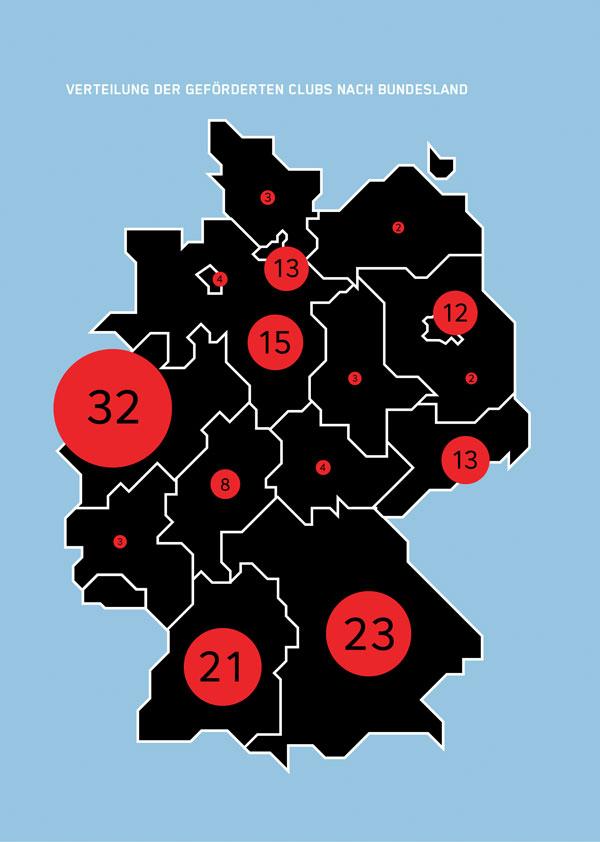 Karte Verteilung