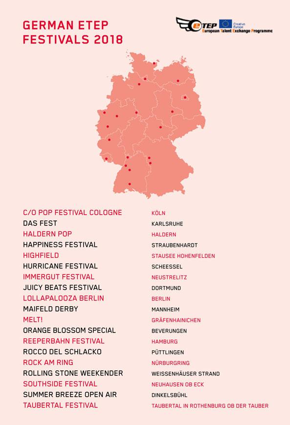 ETEP Festivals