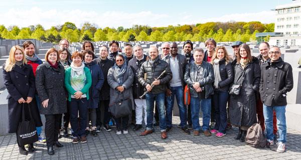 Delegation in Berlin - Foto: Stefan Wieland