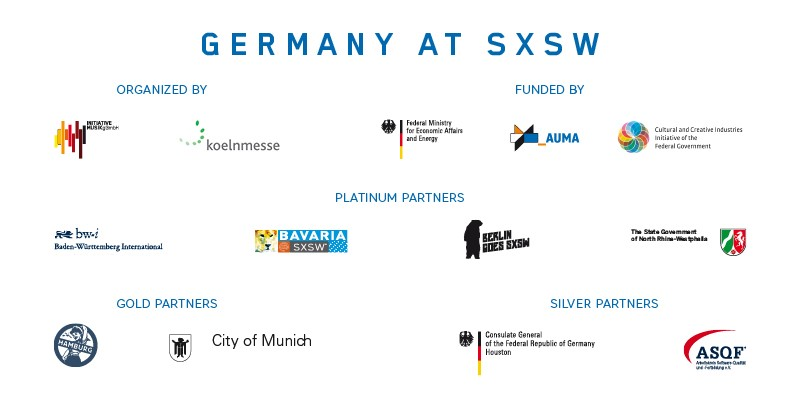 SXSW 2016 - Germany Hauptpartner