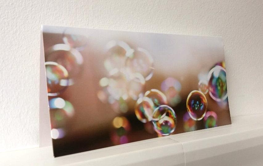 Geschenkverpackung Seifenblasen