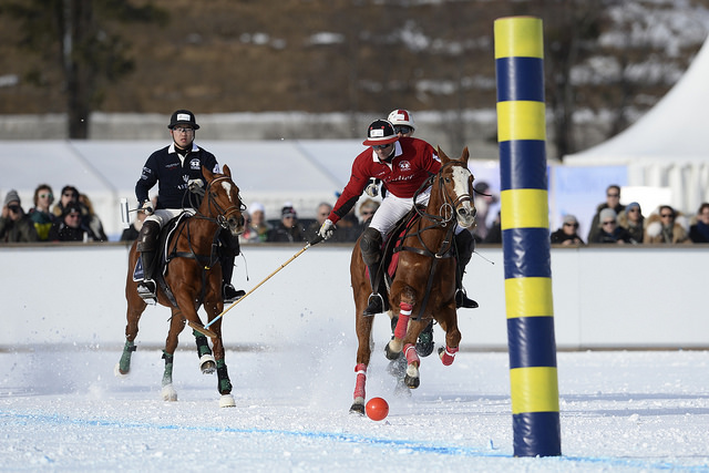 Day 2 / Snow Polo World Cup St. Moritz Badrutt's Palace and Cartier