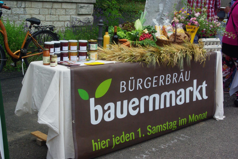 Bauernmarkt im Bürgerbräu