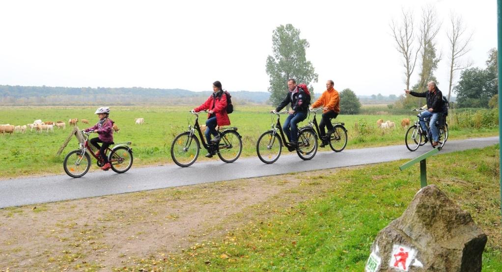 Radwandern im Recknitztal, Foto@Andreas-Duerst.de
