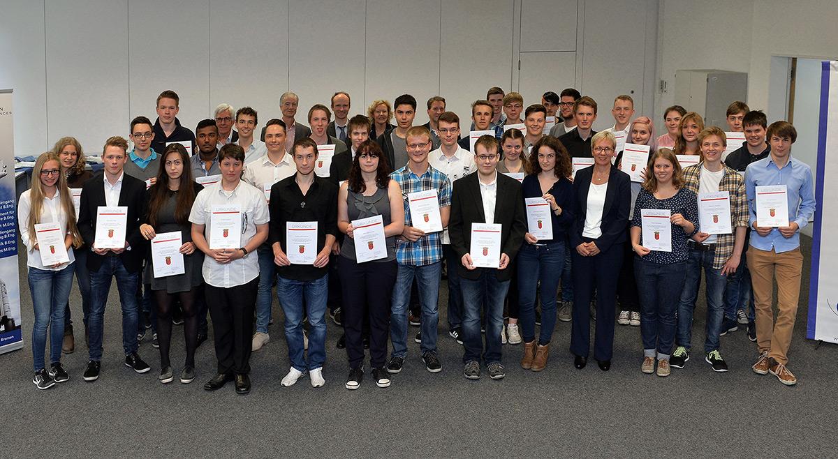 Schülerinnen und Schüler des Ökumenischen Gymnasium (ÖG) Bremen