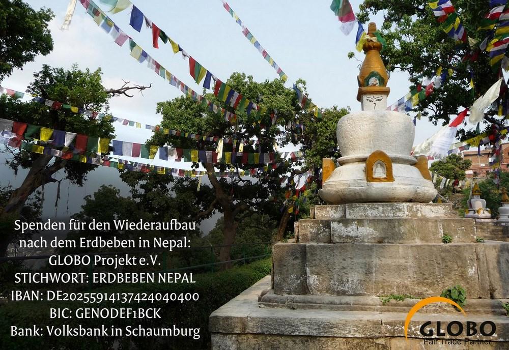 NEPAL-Spendenprojekt GLOBO