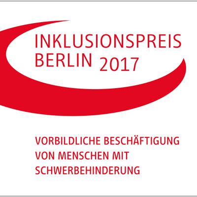 Berliner Inklusionspreis 2017