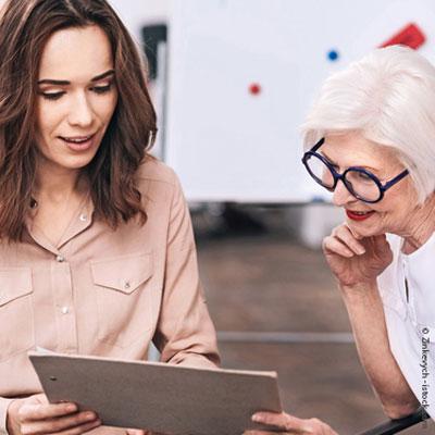 Personalarbeit für Ältere