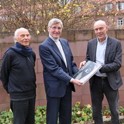 Verabschiedung aus dem Präsidium H.Wielens und W.Jäger durch P.J.Kohtes