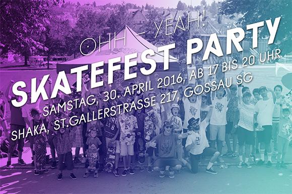 Skatefest Party