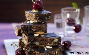 Schoko-Kirsch-Brownies