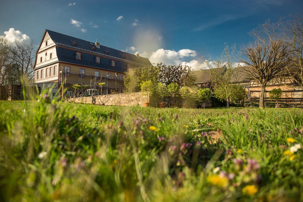 Brentanohaus mit Garten