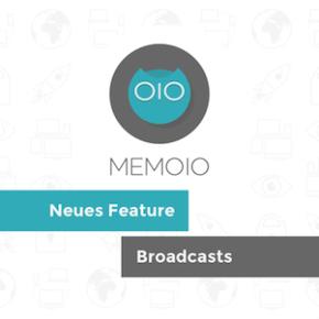 MEMOIO: Broadcasts