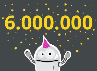6.000.000 Artikelaufrufe?