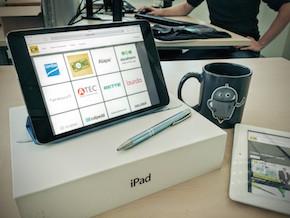 Neues OXOMI Frontend auf dem iPad