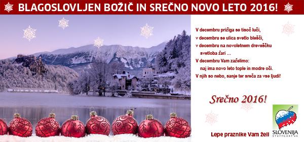 Božično-novoletno voščilo - KD Slovenija Stuttgart