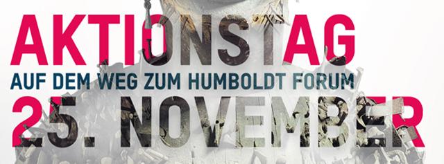 Aktionstag Humboldt Forum