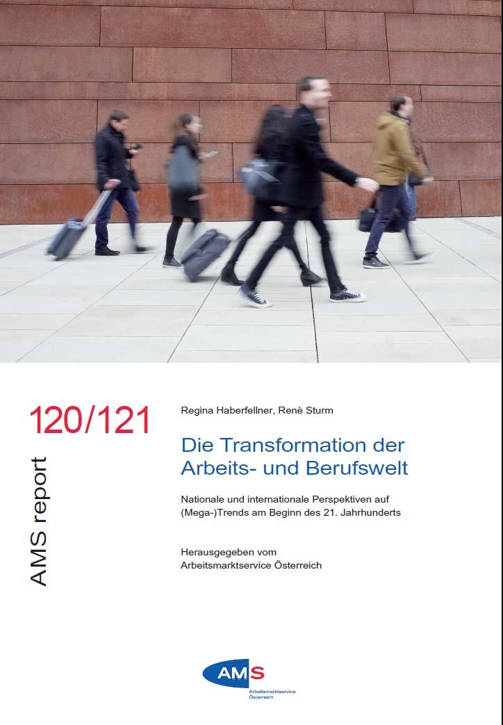 Cover Digitalisierung und Megatrends AMS Info