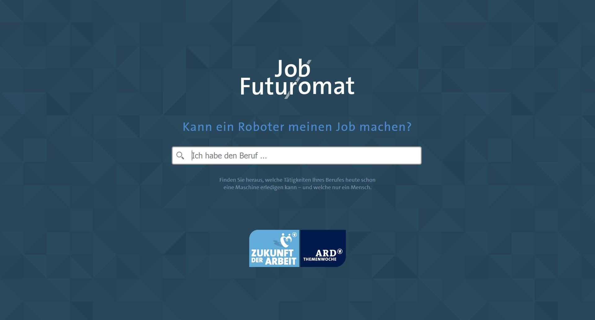 Screenshot Job-futuromat