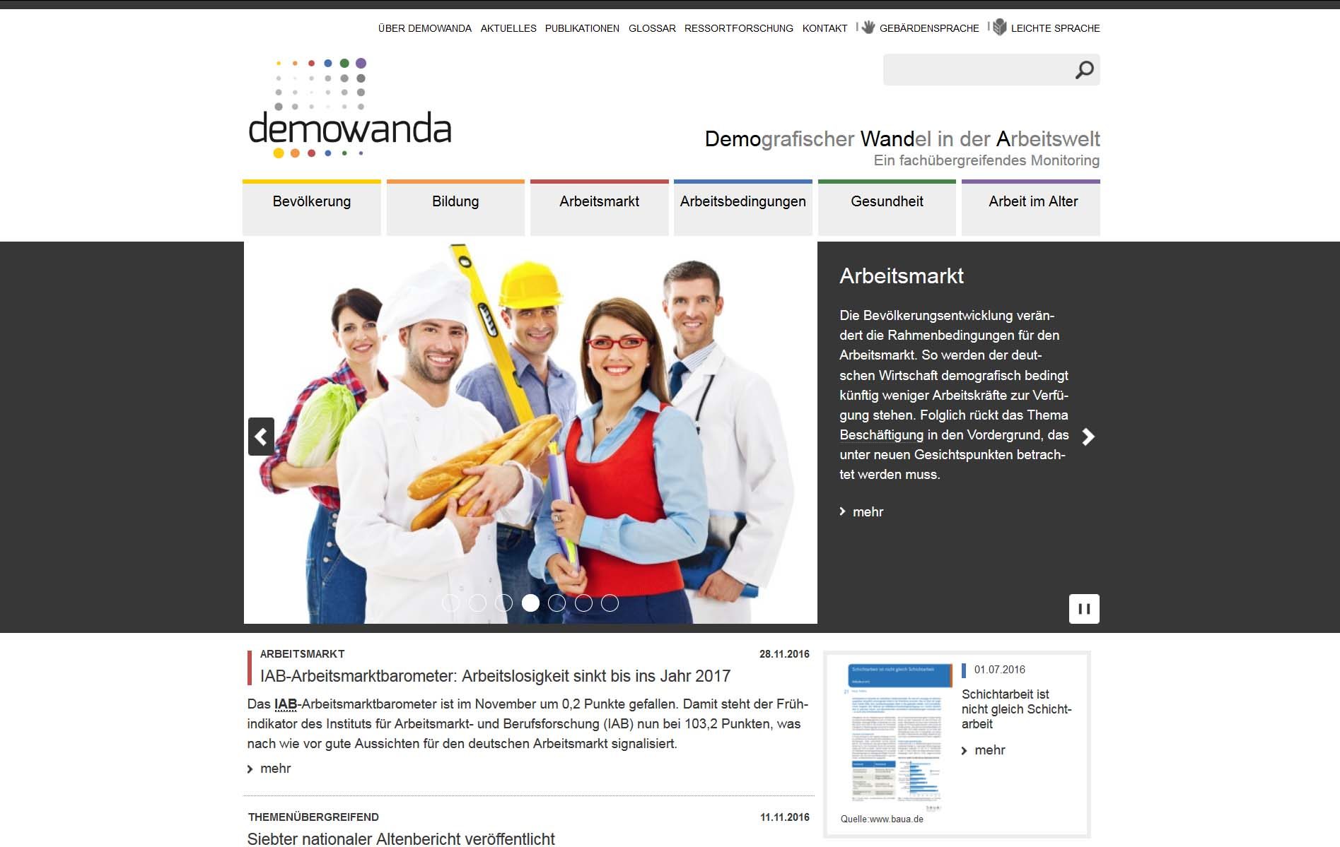 Screenshot demonwanda.de