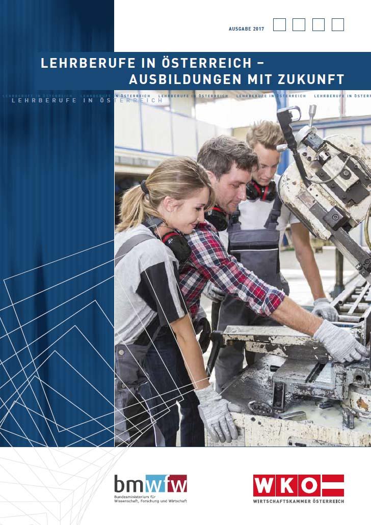 Cover Lehrberufe in Österreich