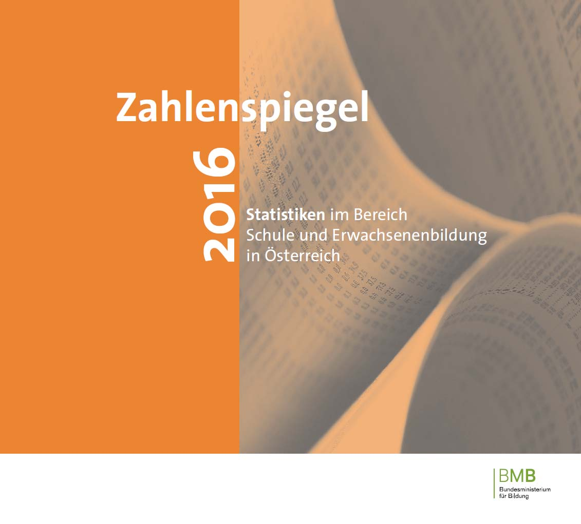 Cover Zahlenspiegel 2016