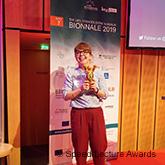 Ulrike Pfohl, Gewinnerin des Speed Lecture Awards, BIONNALE 2019