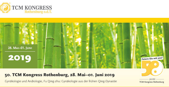TCM Kongress Rothenburg - der beste und größte TCM Kongress Europas