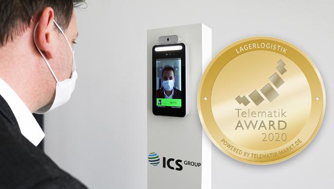 ICS Group gewinnt Telematik Award 2020 mit Corona-Lösung