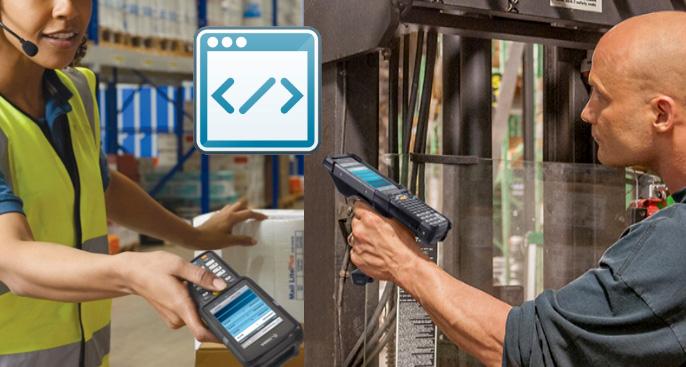 Industriebrowser entfesseln das volle Potenzial Ihrer Mobilcomputer.
