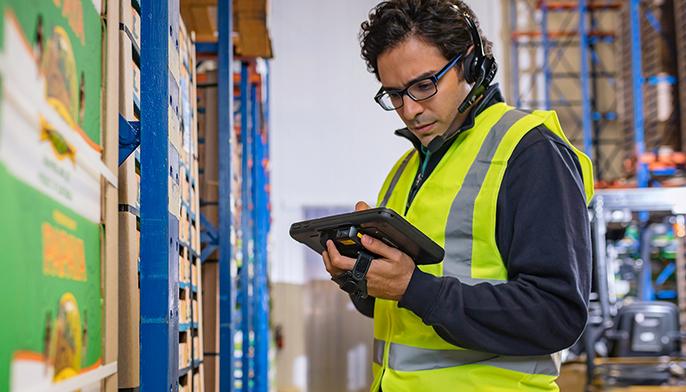 Die neuen Zebra Enterprise Tablets ET51/ET56. Steigern Sie Ihre Mitarbeiterproduktivität.
