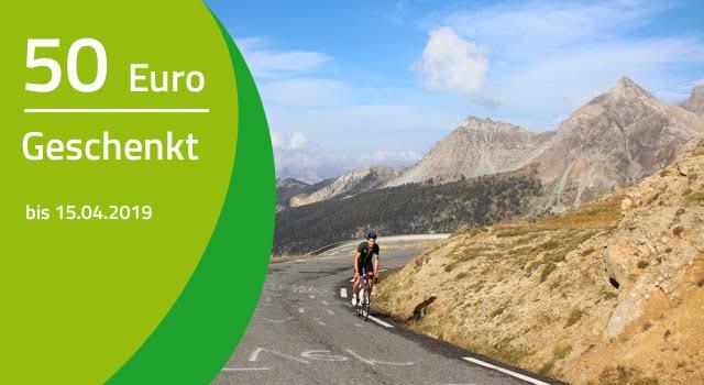 BIKETEAM Aktion zur Radsportsison-Eröffnung