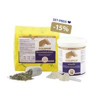 EQUIPUR-Bronchialkräuter+vitafit Set