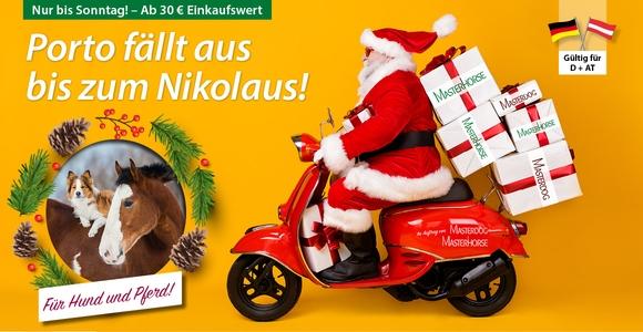 Zu Nikolaus: Wir schenken Ihnen die Versandkosten!
