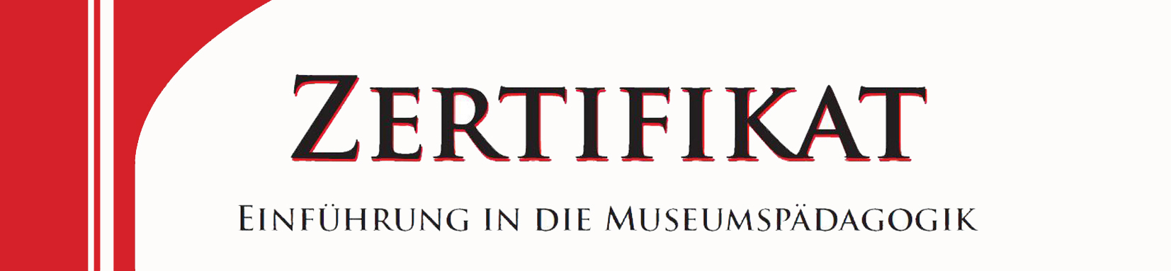 Zertifikatskurs Museumspädagogik 2020