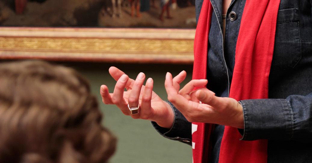 Vermittlung im Museum, Foto: Landesstelle/Vivi d'Angelo