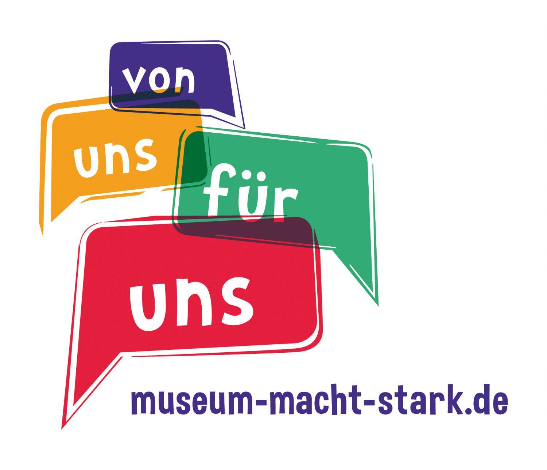 Logo museum macht stark!