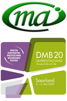 Logos MAI-Tagung und Deutscher Museumsbund