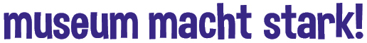 Logo Museum macht stark