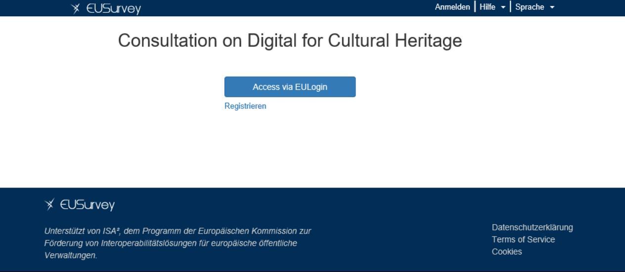 """Online-Umfrage der EU-Kommission zur """"Zukunft der digitalen Kultur"""""""