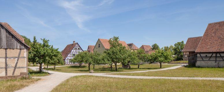 Fränkisches Freilandmuseum Bad Windsheim, Foto: Landesstelle/Felix Löchner