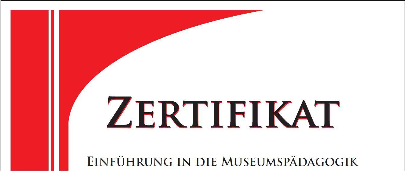Logo Zertifikat Museumspädagogik