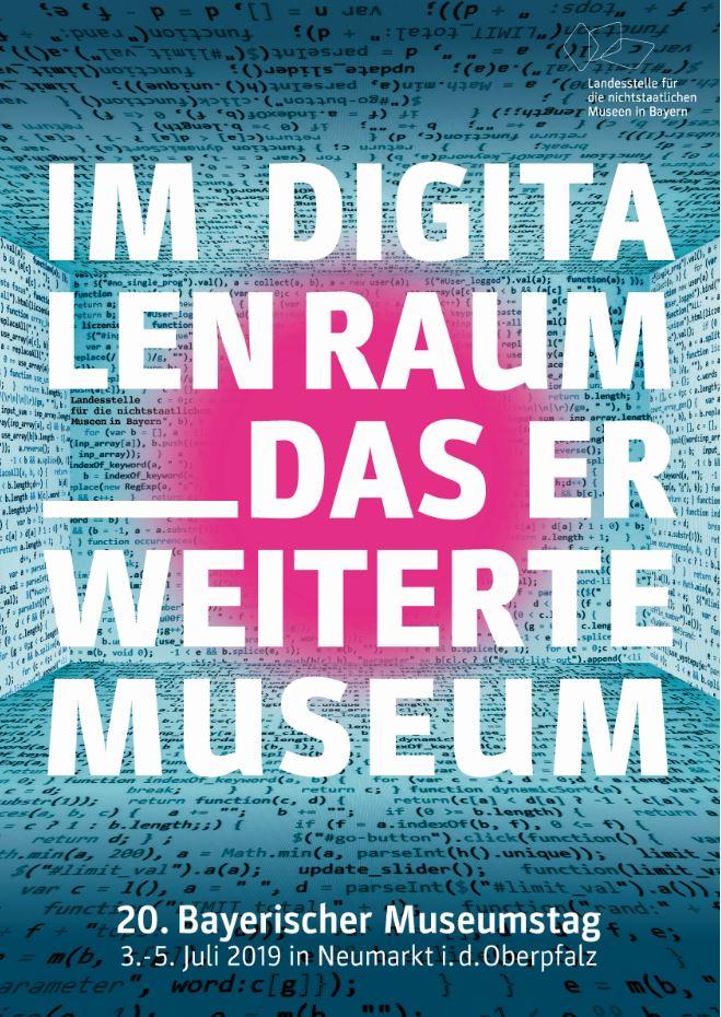 Plakat Bayerischer Museumstag 2019
