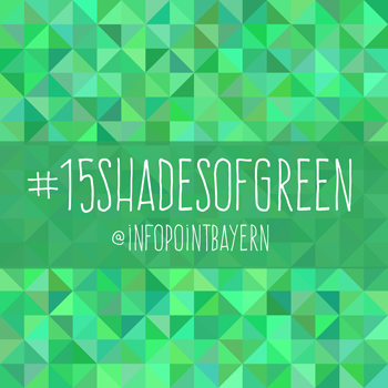 Instagram-Aktion #15shadesofgreen