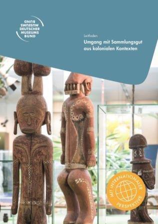 Cover Leitfaden koloniales Sammlungsgut