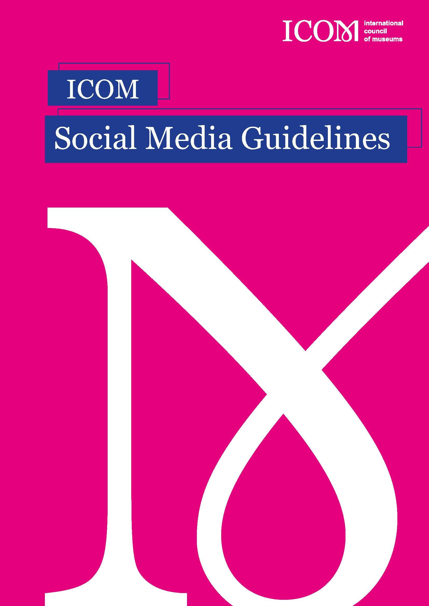 ICOM Social Media Guidelines
