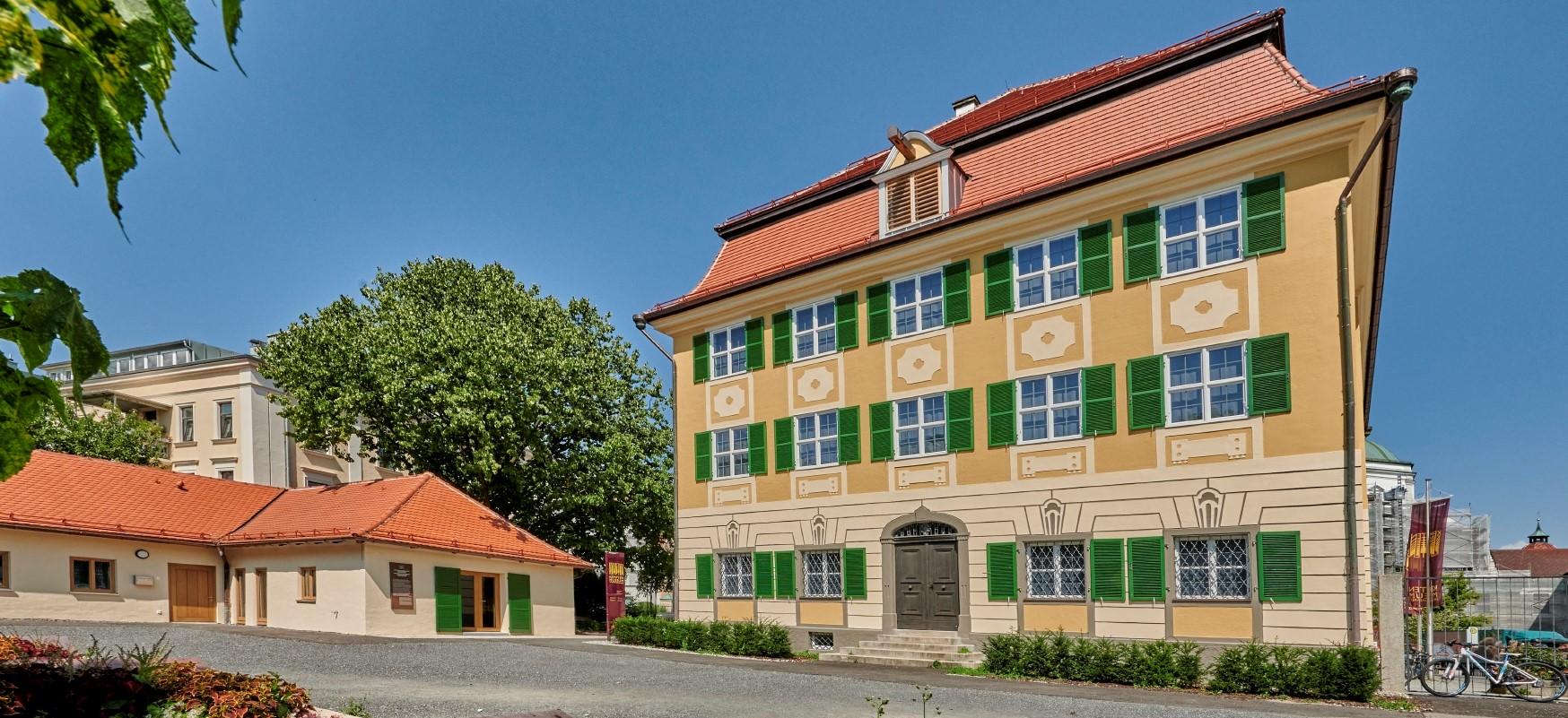 Außenansicht vom Kempten-Museum im Zumsteinhaus